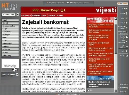 Zajebali Bankomat